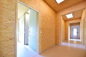 ... das zweigeschossige Flüchtlingsheim in Uhingen (Großraum Stuttgart) geplant