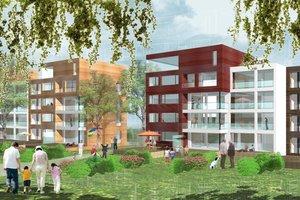 """Das Projekt """"Neue Burg"""" zeigt, wie Konzepte für modernes Wohnen in bestehenden Wohnanlagen aussehen können"""