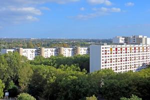 Das Märkische Viertel wird in ein grünes, energieeffizientes Wohnquartier umgebaut.