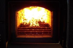 Hoher Kamp: Blick in den Ofen<br />