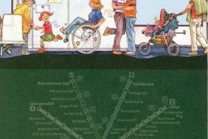 Werbung für das Bielefelder Mieterticket<br />