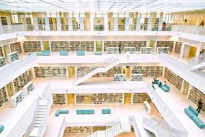 Die multimediale Stadtbibliothek Stuttgart als innovativer Lernort wurde vom Deutschen Bibliotheksverband zur Bibliothek des Jahres 2013 gewählt