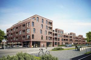 Das Johanniter-Quartier Kirchrode bietet 57 Wohnungen zum aktiven und barrierefreien Wohnen im Alter
