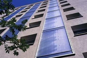 <br />Bei der energetischen Sanierung eines Wohnhauses in Eschwege setzten die Verantwortlichen auf ein Wärmedämm-Verbundsystem in Kombination mit Solarkollektoren