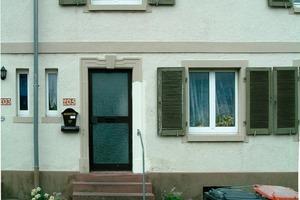 <strong>Grau in grau: </strong>Die Gebäude der Gartenstadt in Karlsruhe hatten über die Jahre ihr Gesicht verloren<br />