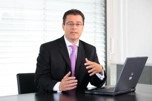 Gesprächspartner Walter Schmidt, Vorsitzender der Geschäftsführung Ista International GmbH, Essen<br />