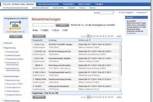 2005 startete die elektronische Vergabe in Berlin im Echtbetrieb durch<br />