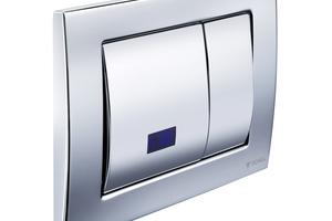 Bild 6: WC-Spülkästen mit einer automatischen Stagnationsspülung sorgen für einen regelmäßigen Wechsel des Kaltwassers auch in ungenutzten Wohnungen. Sie schützen damit automatisch auch die benachbarten Wohnungen vor Kontaminationen, denn es steht am Abzweig der Steigleitung zur ungenutzten Wohnung immer Trinkwasser von hoher Güte an