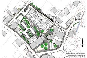 Der Ortskern wurde im Rahmen eines Städtebau-Förderprogrammes saniert<br />Architekten: Architekturschmiede, Kirchdorf i. Wald