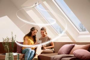 Ein regelmäßiger Austausch verbrauchter Luft ist wichtig, um das Risiko der Schimmelbildung im Wohnraum zu reduzieren<br /><br />