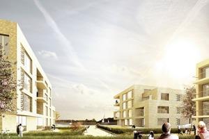 Neubaugebiet Hafenkante 1. Preis Carsten Lorenzen/Kopenhagen<br />