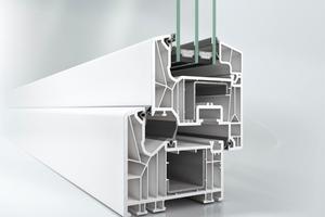 Mit einer Bautiefe von 82 mm und U-Werten bis auf Passivhaus-Niveau weist das LivIng alle Eigenschaften auf, die für den Bau von zukunftsweisenden Energiesparfenstern notwendig sind