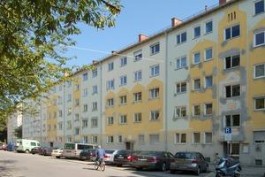 Das Wohnquartier in der Lilienstraße vor der Sanierung<br />