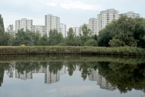 Ein Stadtquartier im Grünen und mit charakteristischer Architektur