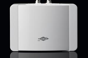Energiesparende Lösung am Waschbecken<br />