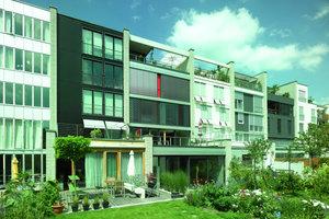 Vielfältige Raumkonzepte und unterschiedliche Ansätze zur Fassadengestaltung verbinden sich zu einem städtebaulichen Ensemble