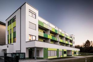 In das 14-Parteien-Wohnhaus der Genossenschaft Witten-Mitte ist auch eine Kindertagesstätte integriert