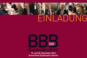 Auf dem BundesBauBlatt-Gipfel werden Kontakte geknüpft