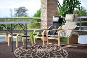 Die Abdichtung wertet die Optik der Außenflächen auf und schützt sie zusätzlich vor Feuchtigkeit und Moosbewuchs