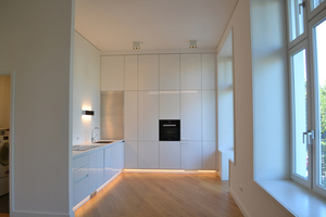 Vom eigenen LTE-Netz, über ferngesteuerte Badewannen bis hin zur intelligenten Küche – in den Räumen ist jeglicher digitaler Komfort gewährleistet