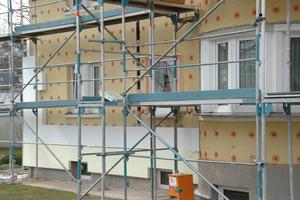 Die energetische Sanierung erfolgte im Zuge ohnehin anstehender Modernisierungs- und Instandhaltungsarbeiten