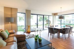 In allen Wohneinheiten wurde eine Fußbodenheizung als Wärmeverteilsystem installiert, die auch zur Kühlung dient