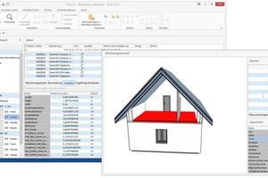 Komplette Gebäudemodelle in die Massenermittlung einlesen und darstellen