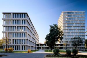 Neubau des Bundesministeriums für Gesundheit in Bonn