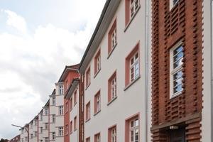 Der Spagat zwischen moderner Sanierung mit Fassadendämmung und denkmalpflegerischen Anforderungen ist gelungen<br />