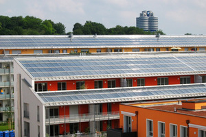 Solare Nahwärme Am Ackermannbogen München
