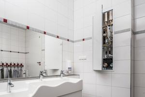 Die Trinkwasserstation ermöglicht eine hygienische und energieeffiziente Trinkwasserversorgung
