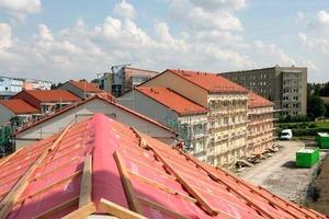 Blick über die neuen Dächer<br />