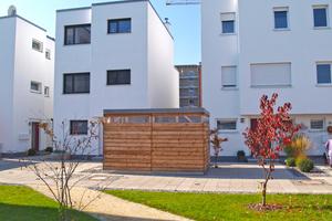 Die Wohnungen der ersten drei Bauabschnitte sind zu 100% verkauft. Derzeit entsteht der 4. Bauabschnitt
