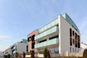 Die Architektur und das Wohnkonzept der Quartiere Skyline 1 und Skyline 2 sind im Hause Bien-Ries entwickelt und realisiert worden<br />
