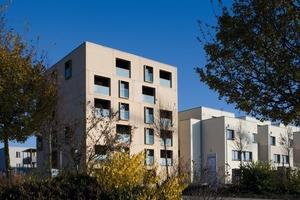 Ein markantes Punkthaus im Konversionsgebiet Wiley-Süd: Das Wohnhaus am Stadtpark<br />