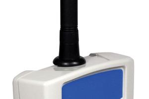 Leistungsstark: Der mobile Datensammler empfängt die Zählerstände per Funk in Gebäuden über viele Stockwerke und eine Distanz von 15 bis 25 m – auf dem freien Feld bis zu 150 m