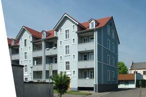 Verschönerung der Wohngegend: Die umfassende Sanierung der Gebäude in der Teichstraße<br />