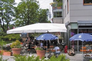 """Modellprojekt """"Barrierefreie Stadtquartiere"""" in München-Ackermannsbogen (Foto1)<br />"""