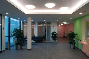 Foyer und Gemeinschaftsbereich im Pflegeheim<br />