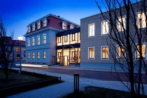 Das alte Winterpalais in Gotha wurde zu einer modernen Bibliothek umgebaut und mit innovativer Gebäudetechnik ausgestattet