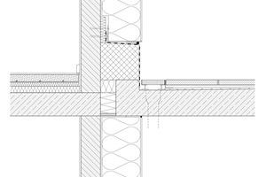 Detail Balkonanschluss<br />