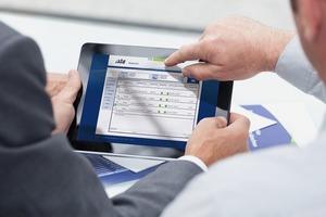 Über das Webportal ist eine monatliche Fernwartung am Tablet-Computer möglich