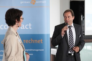 Roland Gilges auf dem Contracting-Kongress<br />