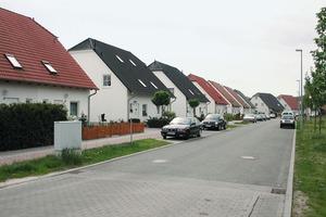 Neubau einer Einfamilienhaussiedlung<br />
