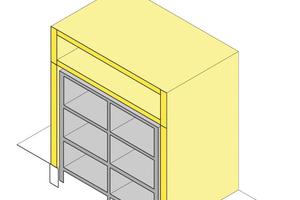 Lastabtragung durch die TES-Fassade – in dieser Form ermöglicht das Konzept auch Aufstockungen ohne statische Reserven des Bestandsgebäudes