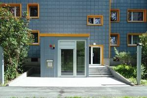 Der Hauseingang ist nach dem Umbau ohne Stufen zu erreichen