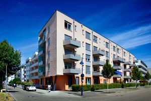 Das Rainer-Bernhard-Haus in Freiburg Rieselfeld bietet unterschiedliche Wohnformen für Menschen mit individuellem Assistenzbedarf
