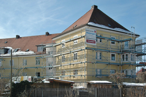 Der U-Wert der Außenwand wurde vor der Sanierung mit 1,45 W/m²K ermittelt