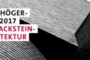 Das Logo des Fritz-Höger-Preises 2017 für Backstein -Architektur. Quelle: Initiative Bauen mit Backstein