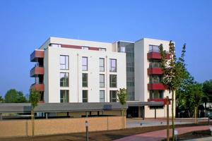 Das Neubauprojekt im niedersächsischen Sarstedt beherbergt 15 Wohneinheiten mit Wohnflächen von 52 bis 95m²